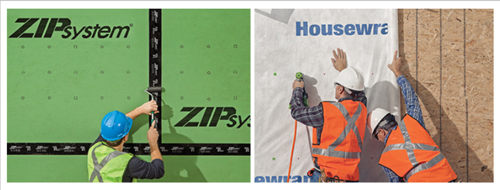 Tech Alert: ZIP System vs  Tyvek HomeWrap - Pros & Cons