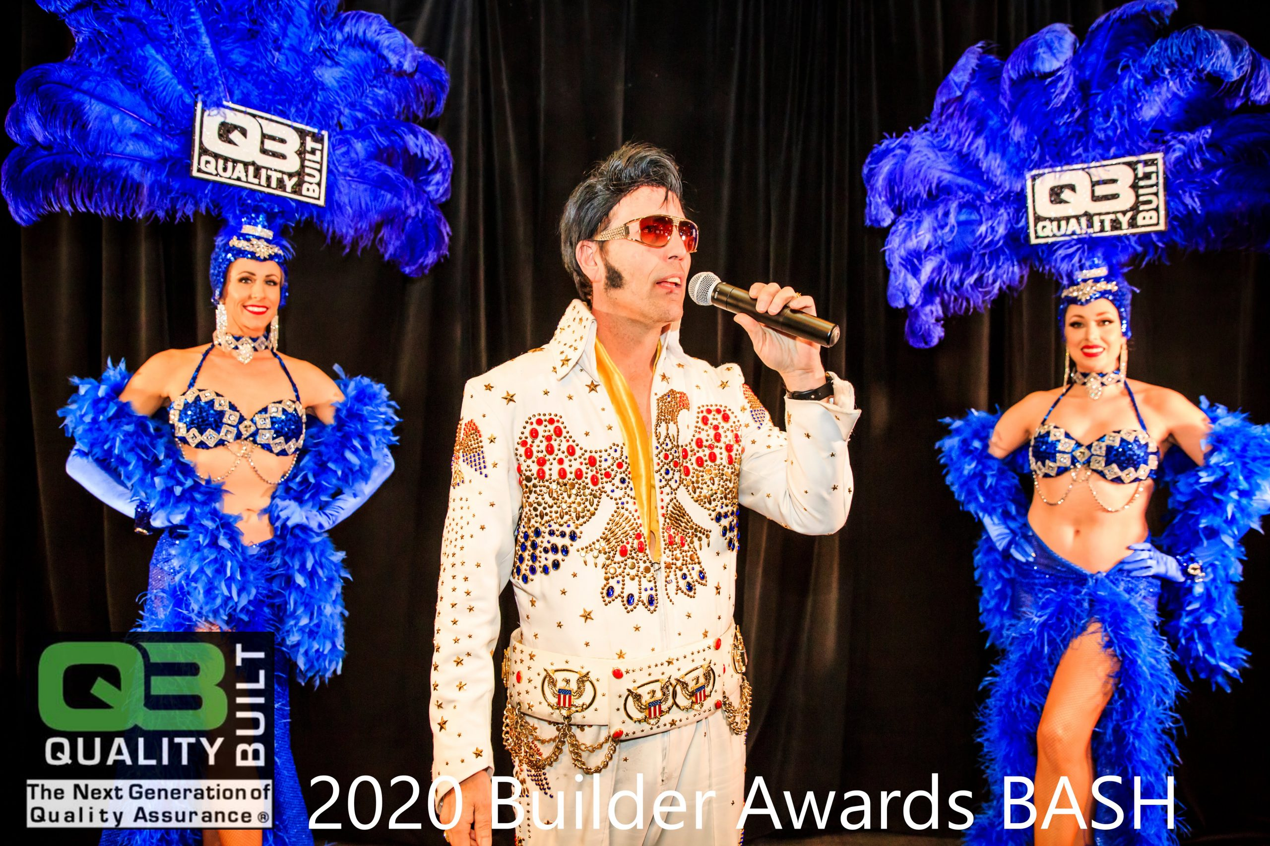 elvis-and-showgirls-at-qb-builder-awards